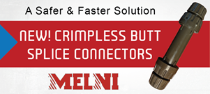 Melni Crimpless Connectors for Direct Burial and Submersible Applications