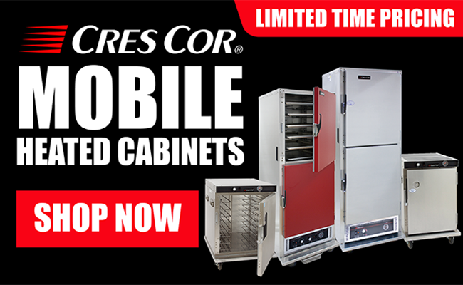Shop Cres Cor Heated Cabinets!