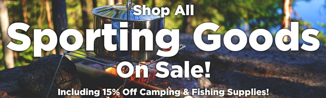 Shop All Sporting Goods On Sale