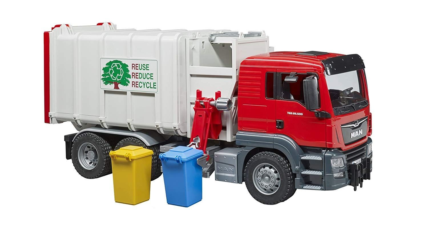 Man Tgs Side Loading Garbage Truck Vehicles Theisens Home Auto