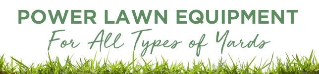 Power Lawn Equipment On Sale