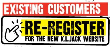 Existing Customers: Re-Register for the New K.L.Jack Website
