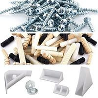 Screws, Fasteners and Braces