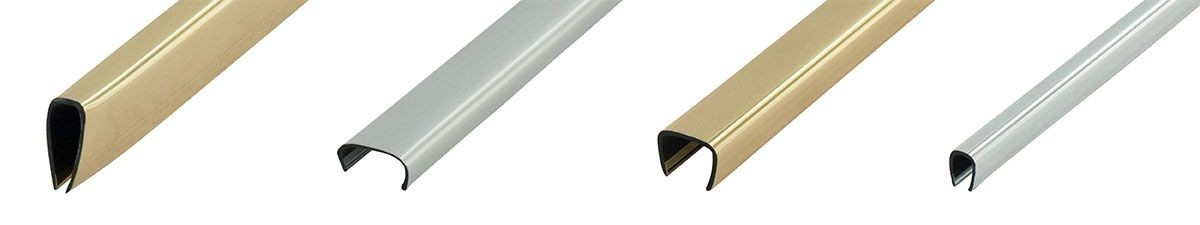 Metallic Plastic U Channel Moulding