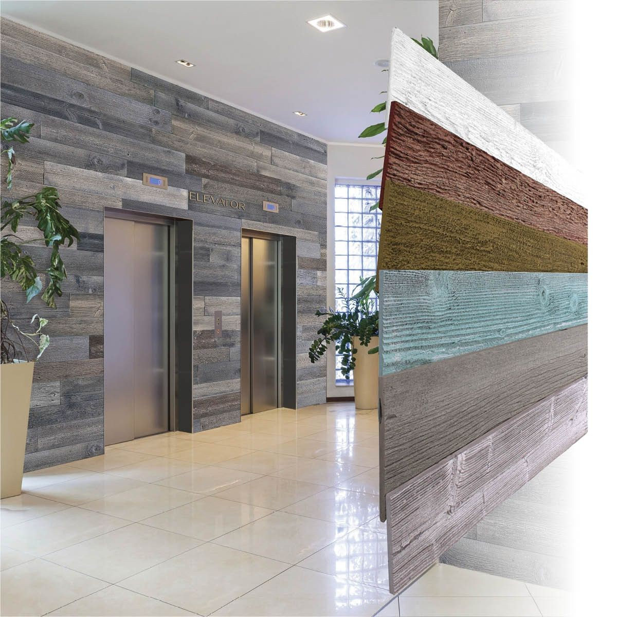 American Wallscapes Wall Covering Planks and Panels