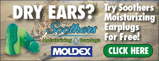 Moldex® Soothers™ 6680 Disposable Earplugs