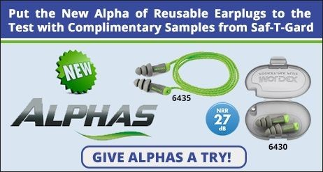 Moldex Alphas Reusable Earplugs