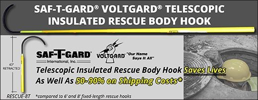 Saf-T-Gard® Voltgard® RESCUE-8T Telescopic Insulated Rescue Body Hook