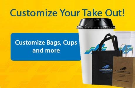 Customize Bags, Cups and more