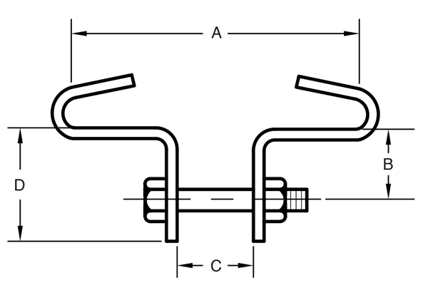 Figure 134 Heavy Beam Clamp