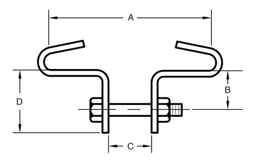Figure 133 Beam Clamp