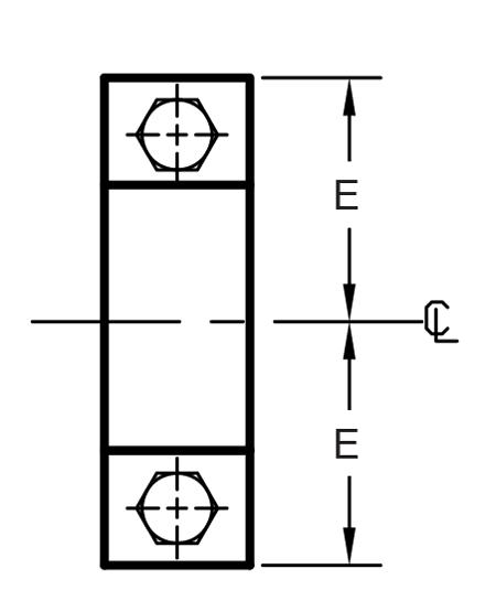 Figure 212 Medium Pipe Clamp