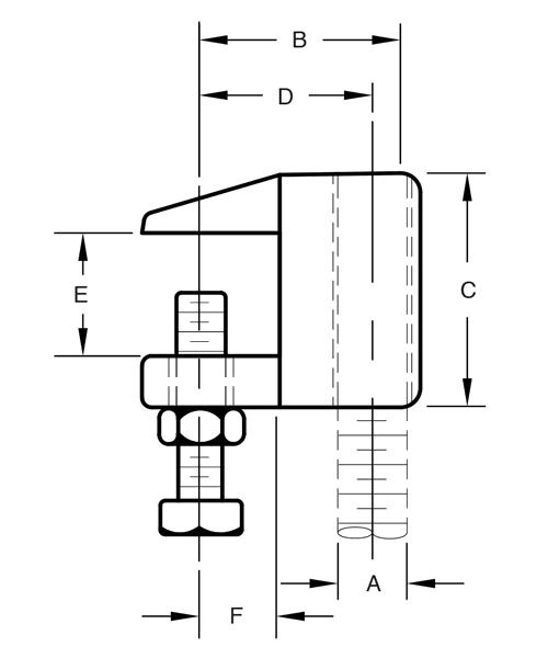 Figure B92 C-Clamp