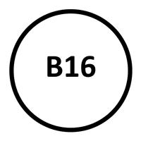 Grade B16 Head Marking