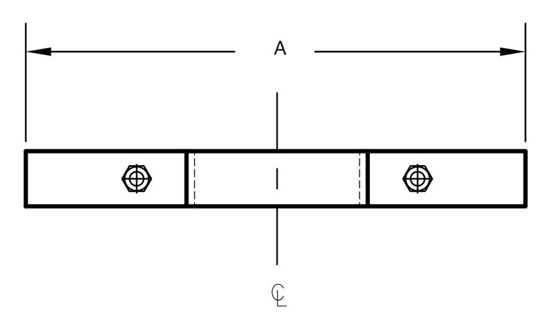Figure 261 Extension Riser Clamp