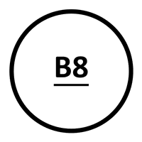 Grade B8 Class 2 Stainless Steel Head Marking