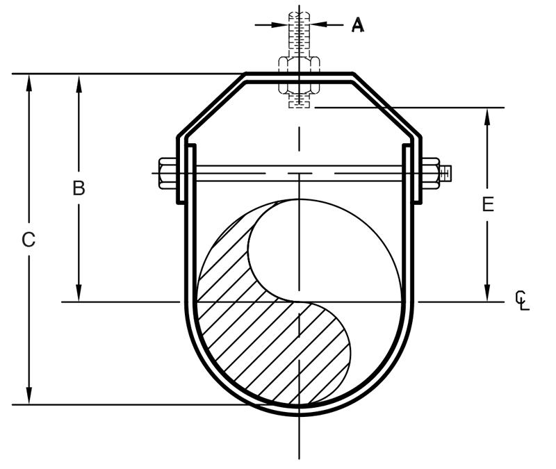 Figure 260 Clevis Hanger