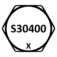 304 Stainless Steel Head Marking
