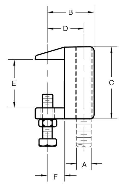 Figure 94 Wide Mouth C-Clamp