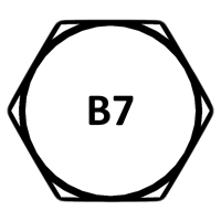 Grade B7 Head Marking