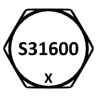 316 Stainless Steel Head Marking