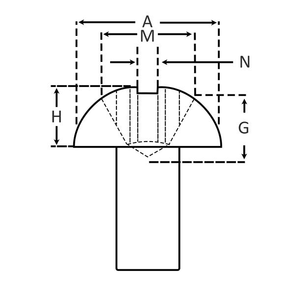 Phillips Round Head for Machine Screws