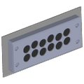 Multiple Cable Entry Plate - 12 Entry