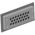Multiple Cable Entry Plate - 23 Entry