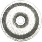 "#12 Roof Screw Plate 3"" Round"