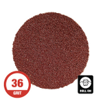 "2"" 2-Ply Surface Conditioning Disc Roll-On 36 Grit - 50 Per Box"