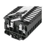 1492-H Finger-Safe Terminal Blocks, H-Block,Code 5,Black (Standard),No Bulk Pack (Single Block)