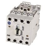 100-C IEC Contactor, 24V DC Electronic Coil, Screw Terminals, Line Side, 37A, 4 N.O. 0 N.C. Main Contact Configuration, Single Pack
