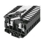 1492-H Finger-Safe Terminal Blocks, H-Block,Code 4,Black (Standard),No Bulk Pack (Single Block)