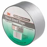 3M™ 051131-06984 General Purpose Duct Tape, 50 yd L x 2 in W x 6.5 mil THK, Rubber Adhesive, Embossed Vinyl Backing, Gray