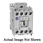 Allen-Bradley 100-C09QJ10 Standard IEC Contactor With Electronic Integrated Diode, 24 VDC Coil, 9 A Maximum Load Current, 1NO-0NC Contact Configuration, 3 Pole