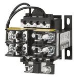 Siemens KT9050P Control Power Transformer, 600 VAC Primary, 120 VAC Secondary, 50 VA Power, 50/60 Hz Frequency, 1 Phase