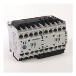 104-K Mini Reversing Contactors, Screw Type Terminals, 9 A, System Control Voltage: 110V 50Hz/120V 60Hz, 3 N.O. Main Contacts, 1 N.C. Auxiliary Contact