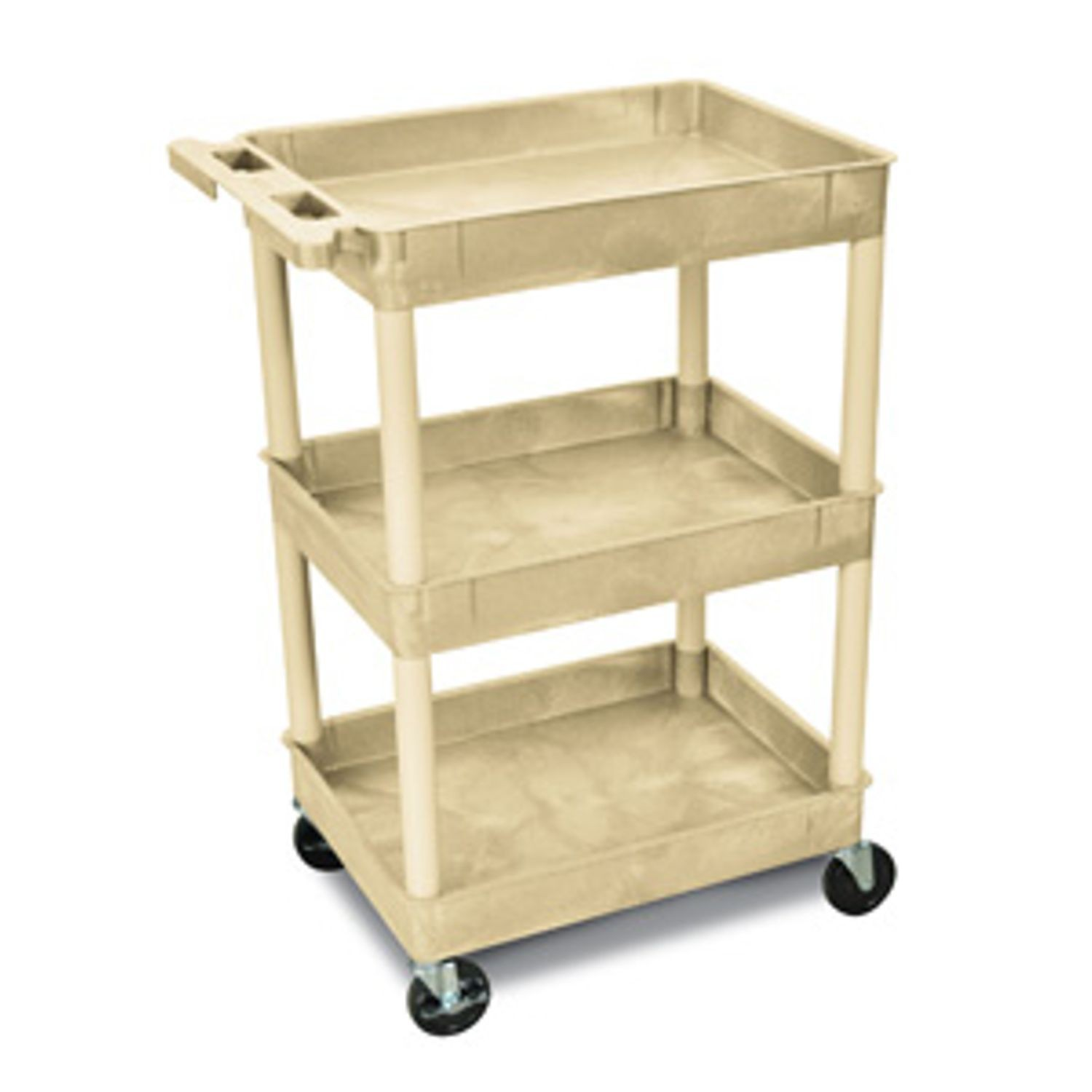 Poly Cart with Tub-Style Shelves   Armstrong Medical