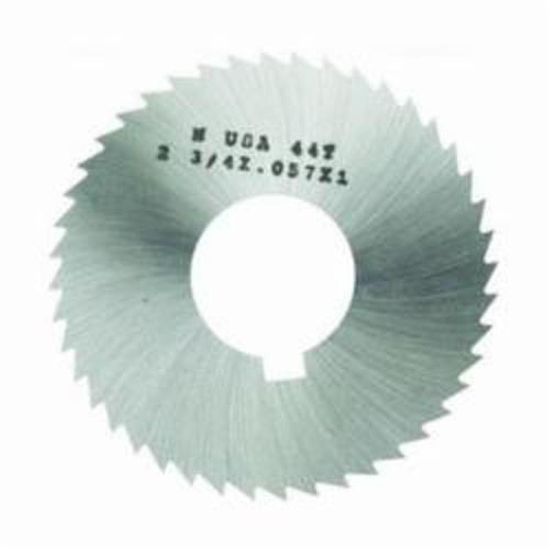 ".081/"" Thick x 2-3//4/"" Diameter x 1/"" Arbor Hole 72 Teeth HSS Screw Slotting Saw"