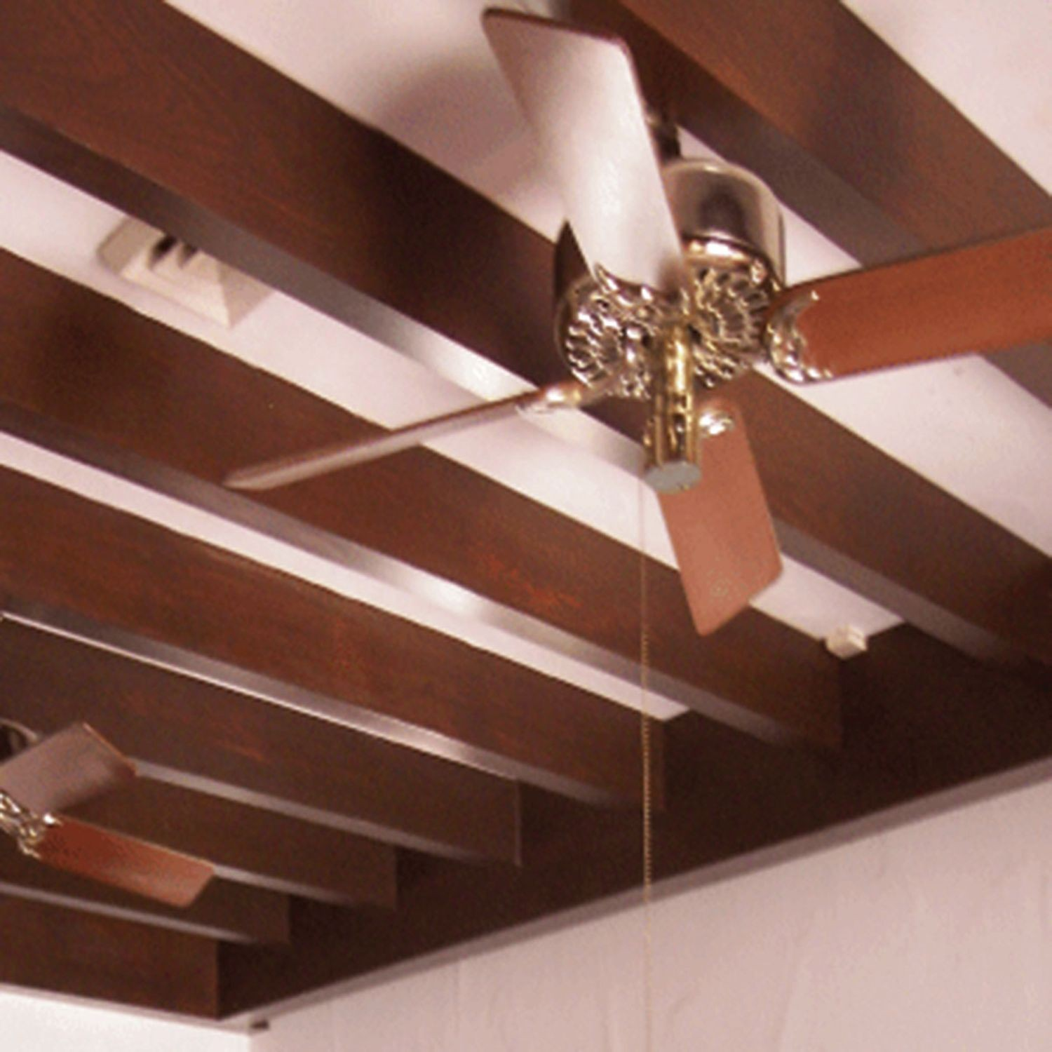 Image of: Contemporary Faux Wood Beam Collection Outwater