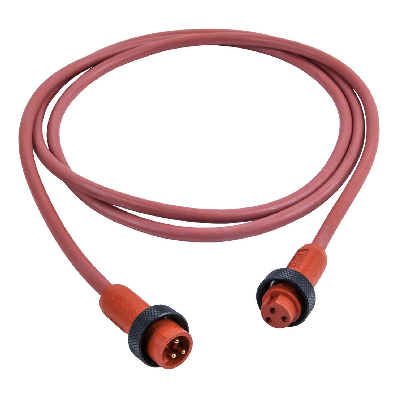 Hi-Temp Silicone Mini-Link Plug Assembly, Male/Female, 2 pole, 12 ...