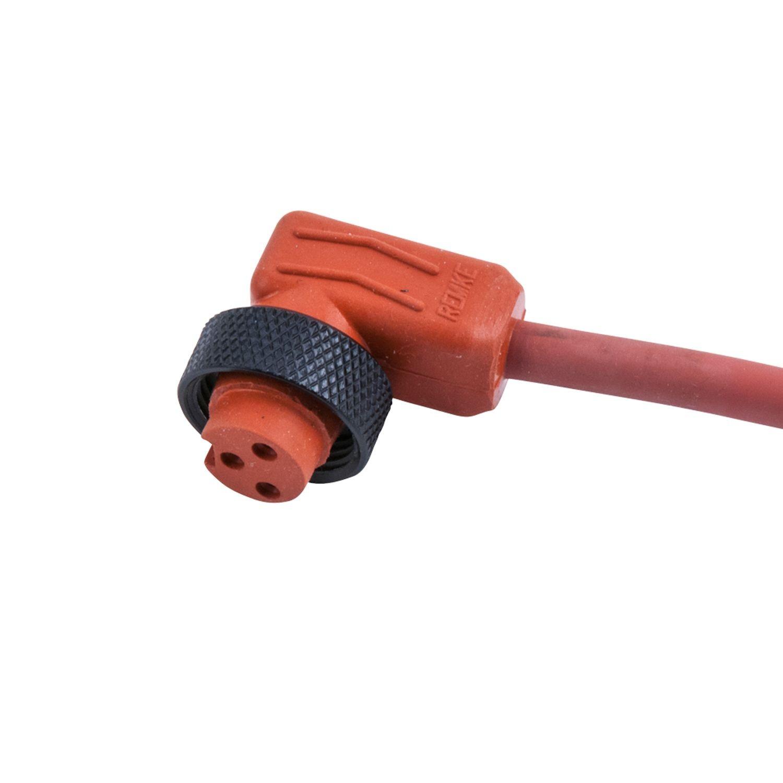 Hi-Temp Silicone Mini-Link Plug Assembly, Female 90 °, 2 pole, 6 ...