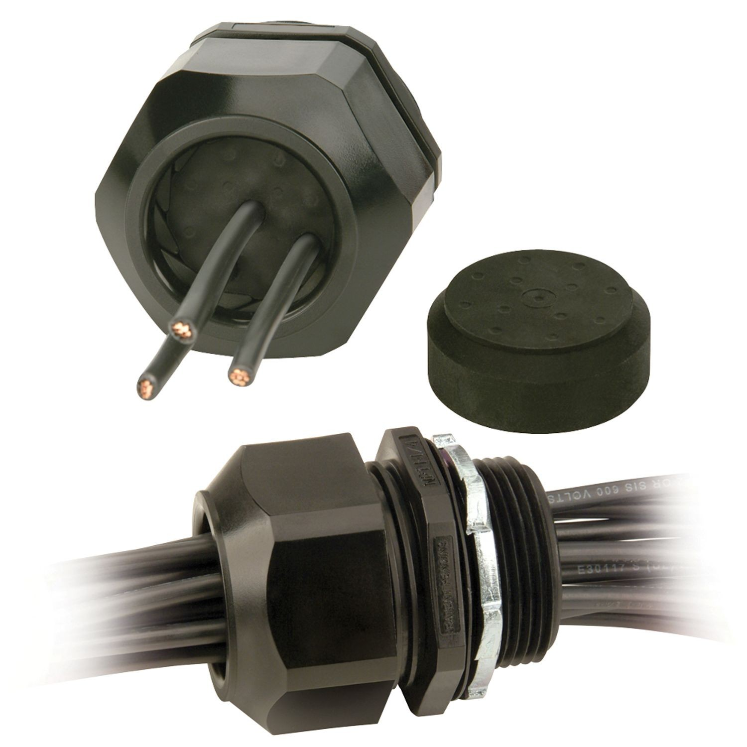 RHG Series, Nylon Solar Connector, 1\