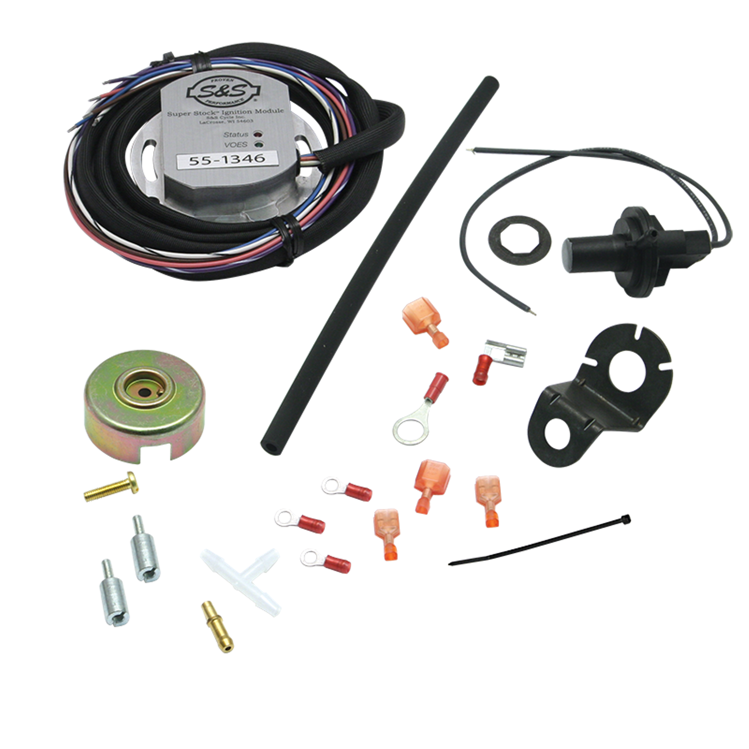 Super Stock Ignition Kit For Hd Evolution 111 117 And 124 Ss Module Wiring Harness 1984 99