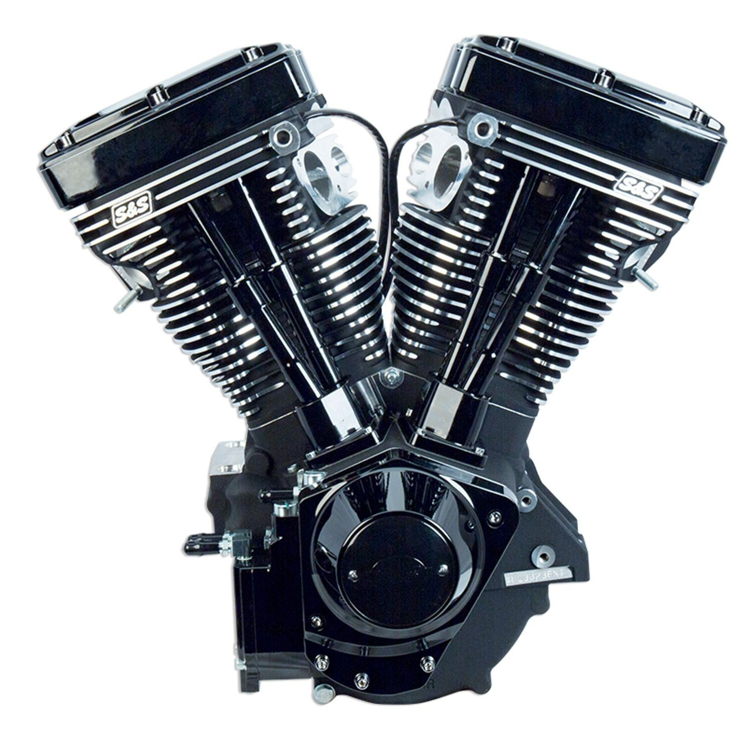 v111 black edition longblock engine for 1984 99 hd models with
