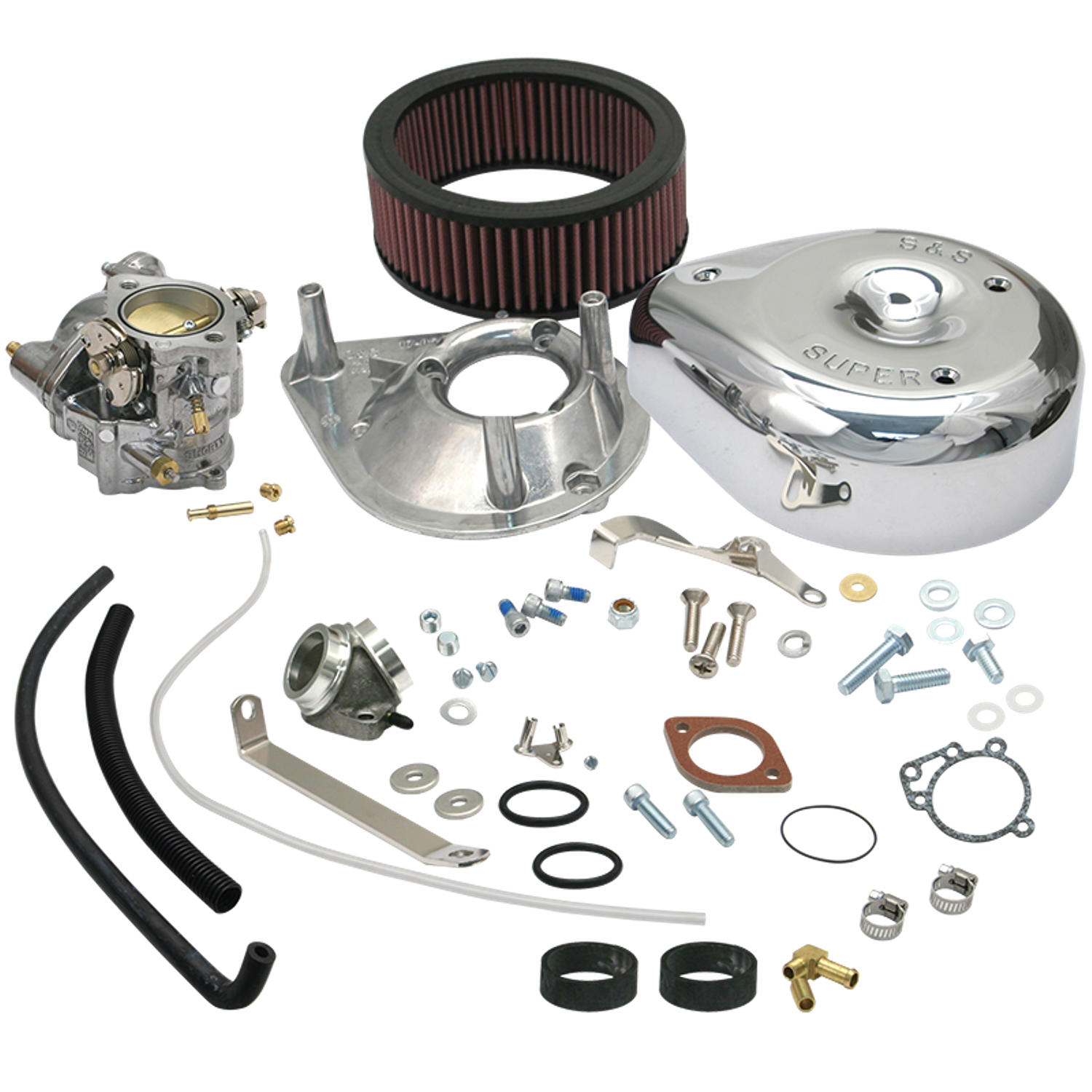 Super E Carburetor Kit for 1979-'85 HD® Ironhead Sportster® Models (not  equipped with vertical magnetos)