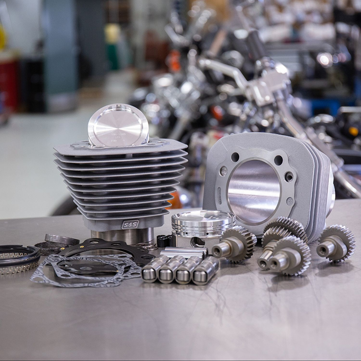 Hooligan Kit - 883cc to 1200cc for 2000-'19 HD® Sportster® Models - Silver