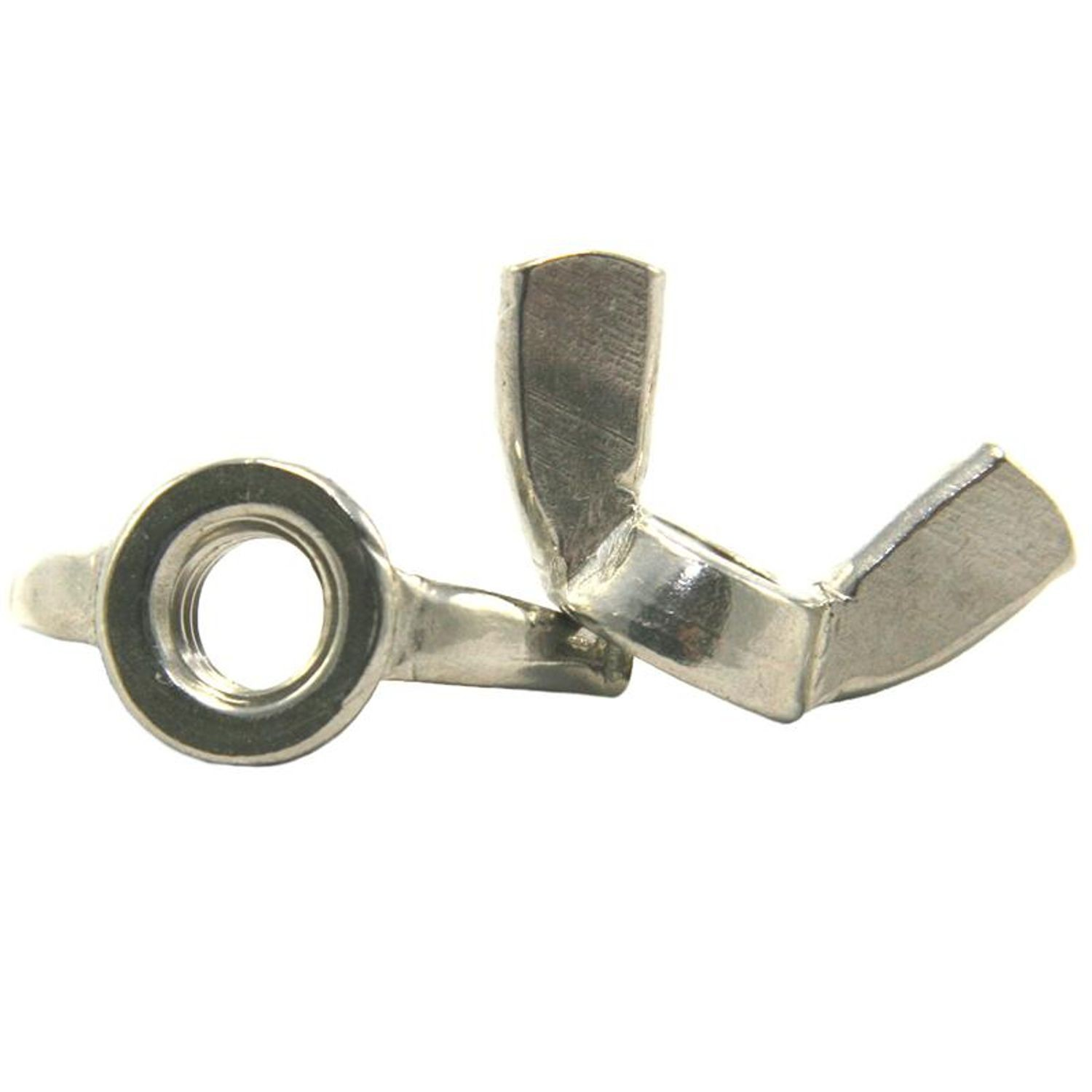 "New 7//16/""-14  18-8 Stainless Steel Wing Nut"