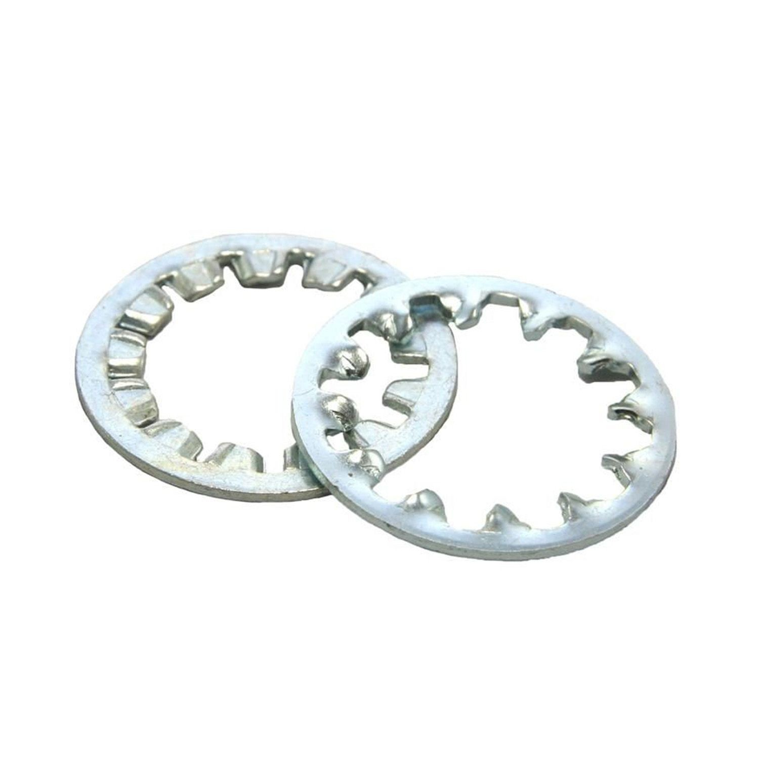 #10 Zinc Plated Internal Tooth Lock Washer