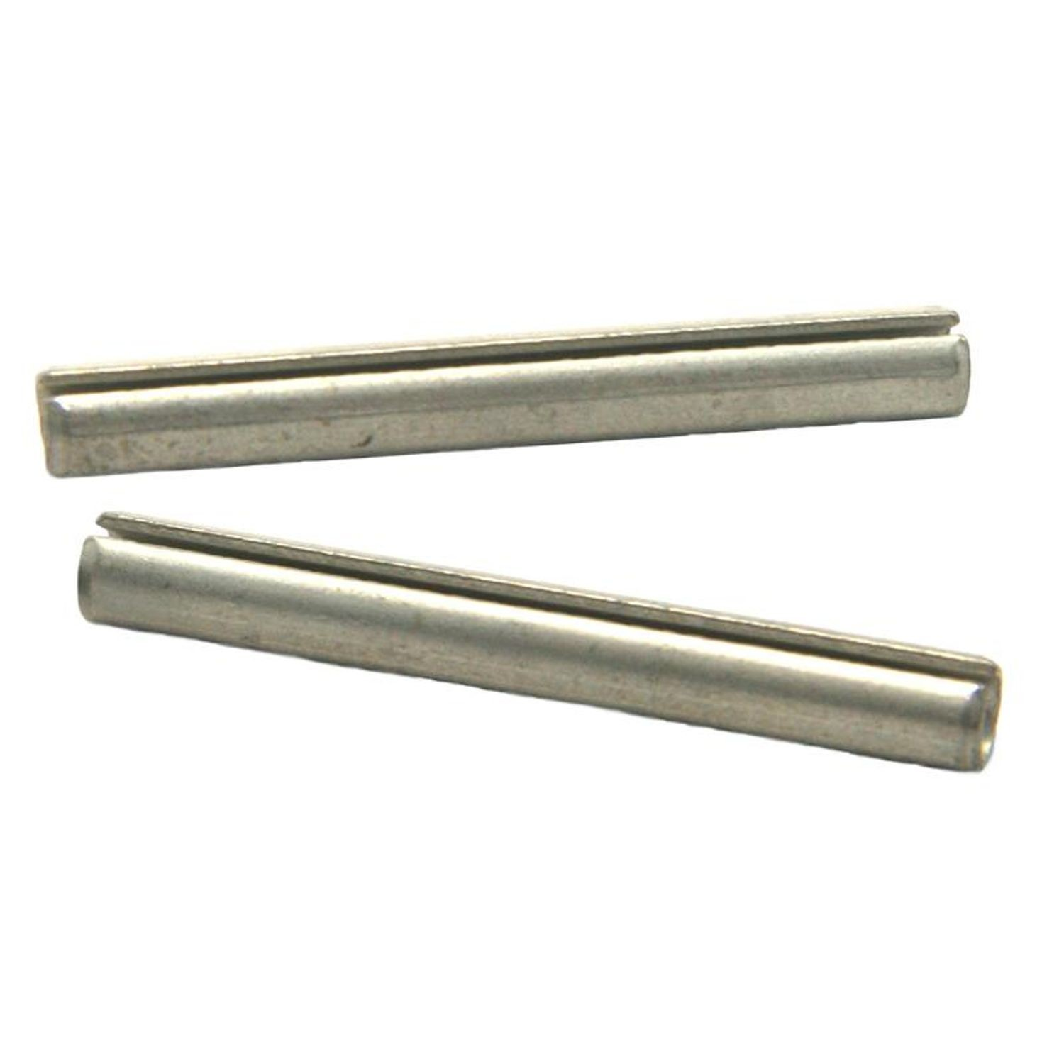 7//32 X 1-1//8 Standard Duty Slotted Spring Pins SAE 1070-1095 Carbon Steel 1000 pcs